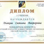ОТИПБ 2014 - Дьякова Светлана
