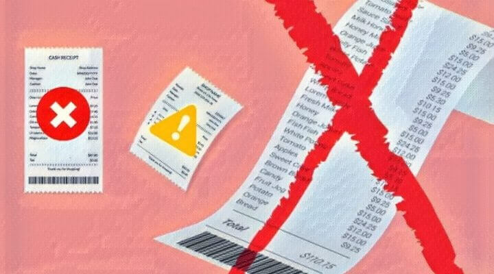 Ошибки в чеке ККТ
